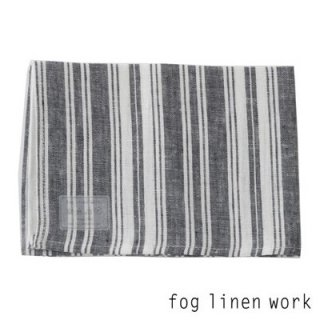 【3点までゆうパケット可】fog linen work(フォグリネンワーク) リネンキッチンクロス ブレント/ランチョンマット キッチンタオル BRENT LKC001-BNAS