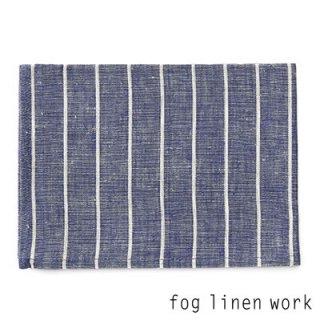 【3点までゆうパケット可】fog linen work(フォグリネンワーク) リネンキッチンクロス ネイビーボーダー/ランチョンマット キッチンタオル LKC001-NAB