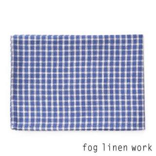 【3点までゆうパケット可】fog linen work(フォグリネンワーク) リネンキッチンクロス アナ/ランチョンマット キッチンタオル LKC001-BLPL