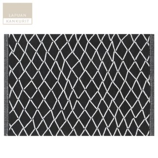 【ゆうパケット可】LAPUAN KANKURIT ラプアン・カンクリ ESKIMO placemat (W48×H32) white-black / プレースマット ホワイト×ブラック