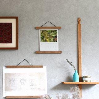 Creamore Mill  クレモア ミル Poster Hanger tiny 木製ポスターハンガー(W21.6cm)