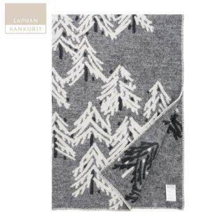 LAPUAN KANKURIT ラプアン・カンクリ 鈴木マサル KUUSI (クーシ)ブランケット グレーホワイト 130×200cm