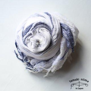 tamaki niime 玉木新雌 roots shawl cotton big 03/ ルーツショール コットン ビッグ 03 【送料無料】