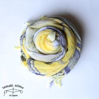 tamaki niime 玉木新雌 roots shawl cotton big 18ss rsb10/ ルーツショール コットン 100% ビッグ【送料無料】