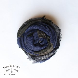 tamaki niime 玉木新雌 roots shawl wool middle RSM_W72/ ルーツショール ウール ミドル 【送料無料】