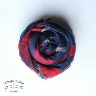 tamaki niime 玉木新雌 roots shawl wool middle RSM_W81/ ルーツショール ウール ミドル 【送料無料】