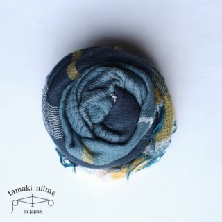 tamaki niime 玉木新雌 roots shawl wool middle RSM_W83/ ルーツショール ウール ミドル 【送料無料】