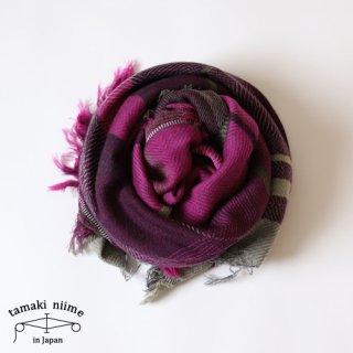 tamaki niime 玉木新雌 roots shawl wool middle RSM_W84/ ルーツショール ウール ミドル 【送料無料】