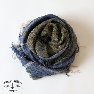 tamaki niime 玉木新雌 roots shawl wool middle RSM_W85/ ルーツショール ウール ミドル 【送料無料】