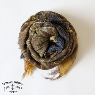 tamaki niime 玉木新雌 roots shawl wool middle RSM_W86/ ルーツショール ウール ミドル 【送料無料】