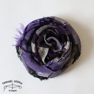 tamaki niime 玉木新雌 roots shawl wool middle RSM_W90/ ルーツショール ウール ミドル 【送料無料】