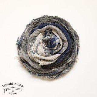 tamaki niime 玉木新雌 roots shawl cotton big 26/ ルーツショール コットン ビッグ 【送料無料】