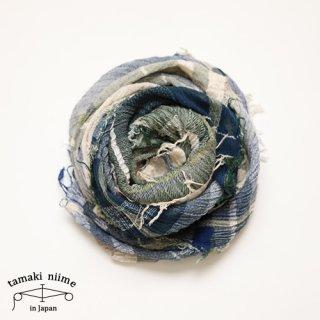 tamaki niime 玉木新雌 roots shawl cotton big 27/ ルーツショール コットン ビッグ 【送料無料】