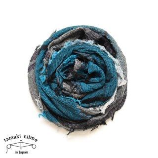 tamaki niime 玉木新雌 roots shawl cotton big 29/ ルーツショール コットン ビッグ 【送料無料】