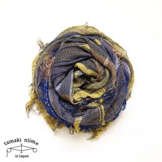 tamaki niime 玉木新雌 roots shawl cotton big 31/ ルーツショール コットン ビッグ 【送料無料】