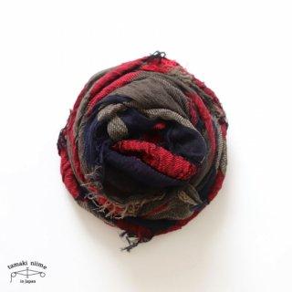 tamaki niime 玉木新雌 roots shawl cotton big 33/ ルーツショール コットン ビッグ 【送料無料】