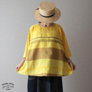 tamaki niime(タマキ ニイメ) 玉木新雌 only one fuwa-T HALF SLEEVES cotton100% FTH19 フワTハーフスリーブ コットン100%【送料無料】