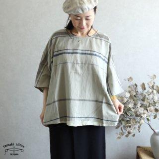 tamaki niime(タマキ ニイメ) 玉木新雌 only one fuwa-T HALF SLEEVES cotton100% FTH22 オンリーワン フワTハーフ 【送料無料】