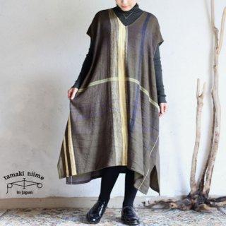 tamaki niime 玉木新雌 only one fuwa T LONG wool70% cotton30% FTLW01 / オンリーワン フワT ロング ウール コットン 【送料無料】