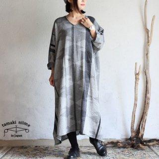 tamaki niime 玉木新雌 only one fuwa-T all wool70% cotton 30% FTA_W01 / オンリーワン フワT オール Vネック ウール【送料無料】