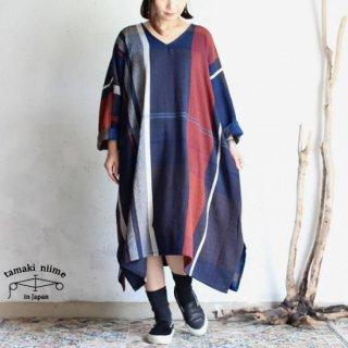tamaki niime 玉木新雌 only one fuwa-T all wool70% cotton 30% FTA_W03 / オンリーワン フワT オール Vネック ウール【送料無料】