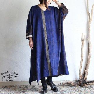 tamaki niime 玉木新雌 only one fuwa-T all wool70% cotton 30% FTA_W04 / オンリーワン フワT オール Vネック ウール【送料無料】