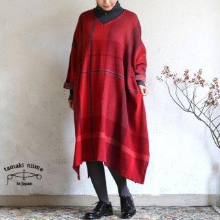 tamaki niime 玉木新雌 only one fuwa-T all wool70% cotton 30% FTA_W10 / オンリーワン フワT オール Vネック ウール【送料無料】