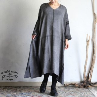 tamaki niime 玉木新雌 only one fuwa-T all wool70% cotton 30% FTA_W12 / オンリーワン フワT オール Vネック ウール【送料無料】