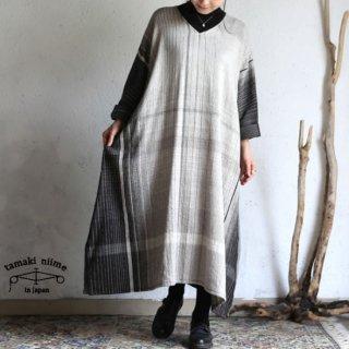 tamaki niime 玉木新雌 only one fuwa-T all wool70% cotton 30% FTA_W13 / オンリーワン フワT オール Vネック ウール【送料無料】