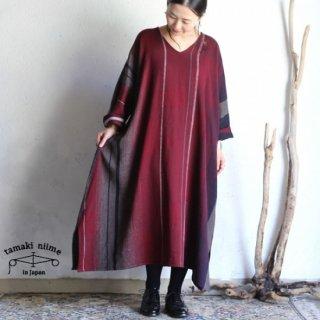 tamaki niime 玉木新雌 only one fuwa-T all wool70% cotton 30% FTA_W15 / オンリーワン フワT オール Vネック ウール【送料無料】