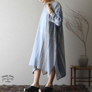 tamaki niime 玉木新雌 only one fuwa-T All V cotton 100% FTA23 / オンリーワン フワT オール(長袖) Vネック コットン100% 【送料無料】
