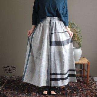 tamaki niime  玉木新雌 only one wide pants LONG cotton 100% WPL08 / オンリーワン ワイドパンツ ロング コットン100% 【送料無料】