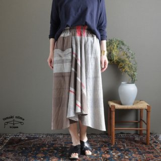 tamaki niime(タマキ ニイメ) 玉木新雌 only one chotan skirt CTN27 cotton100% オンリーワン チョタンスカート コットン100%