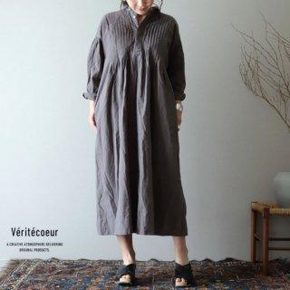 Veritecoeur(ヴェリテクール)【2019ss新作】 ピンタックワンピース SUMIGRY / VC-1888