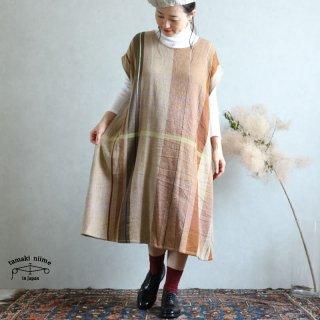 tamaki niime 玉木新雌 only one fuwa-T long wool70% cotton30% FTLW07 / オンリーワン フワT ロング ウール