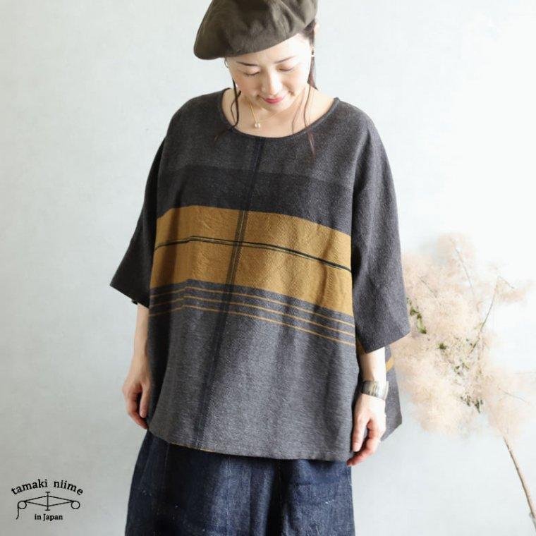 tamaki niime 玉木新雌 only one fuwa-T HALF wool70% cotton30% FTHW02 / オンリーワン フワT ハーフ ウール