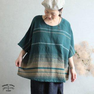 tamaki niime 玉木新雌 only one fuwa-T HALF wool70% cotton30% FTHW03 / オンリーワン フワT ハーフ ウール