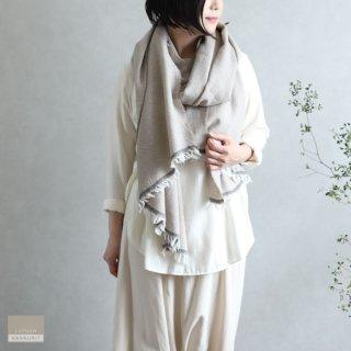 LAPUAN KANKURIT ラプアン・カンクリ【2020AW新作】VIIRU merino wool scarf  beige ヴィールスカーフ