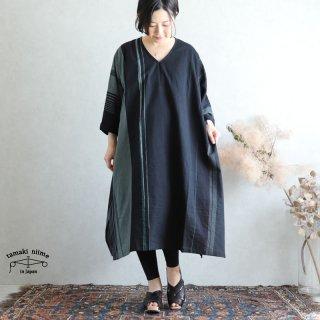 tamaki niime 玉木新雌 only one fuwa-T All V cotton 100% FTA25 / オンリーワン フワT オール(長袖) Vネック コットン100%