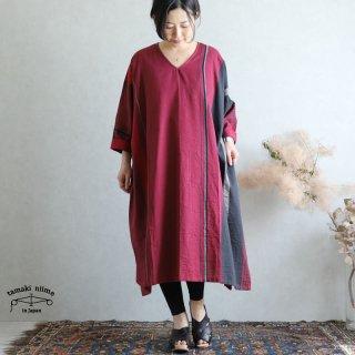 tamaki niime 玉木新雌 only one fuwa-T All V cotton 100% FTA26 / オンリーワン フワT オール(長袖) Vネック コットン100%