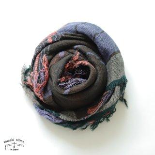 tamaki niime 玉木新雌 タマキニイメ mocotton shawl MIDDLE 03 cotton100% / モコットンショール ミドル コットン100%