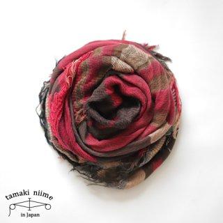 tamaki niime 玉木新雌 タマキニイメ mocotton shawl MIDDLE 01 cotton100% / モコットンショール ミドル コットン100%
