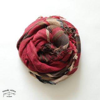 tamaki niime 玉木新雌 タマキニイメ mocotton shawl MIDDLE 07 cotton100% / モコットンショール ミドル コットン100%