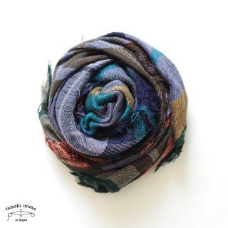 tamaki niime 玉木新雌 タマキニイメ mocotton shawl MIDDLE 08 cotton100% / モコットンショール ミドル コットン100%