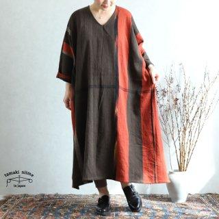 tamaki niime 玉木新雌 only one fuwa-T All wool70% cotton 30% FTA_W16 / オンリーワン フワT オール(長袖) Vネック ウール