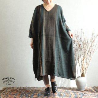 tamaki niime 玉木新雌 only one fuwa-T All wool70% cotton 30% FTA_W17 / オンリーワン フワT オール(長袖) Vネック ウール