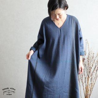 tamaki niime 玉木新雌 only one fuwa-T All wool70% cotton 30% FTA_W18 / オンリーワン フワT オール(長袖) Vネック ウール