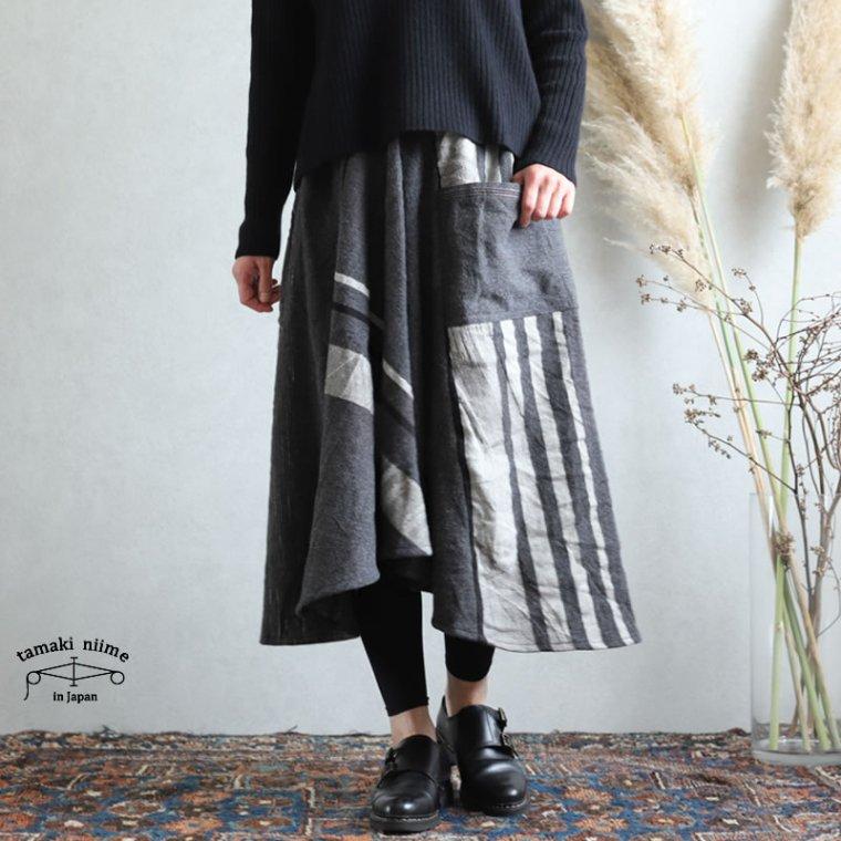 tamaki niime(タマキ ニイメ) 玉木新雌 chotan skirt(チョタンスカート)