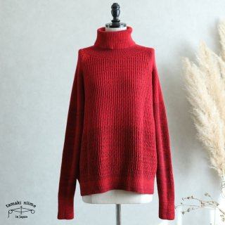 tamaki niime(タマキ ニイメ) 玉木新雌 only one WTO knit すう サイズ2 wtoknit_s02_1  ニット ウール90% コットン10%