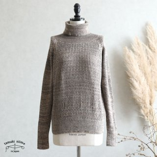 tamaki niime(タマキ ニイメ) 玉木新雌 only one WTO knit すう サイズ1 wtoknit_s01_3  ニット ウール90% コットン10%